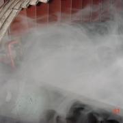 视频:落料点导料槽干雾抑尘